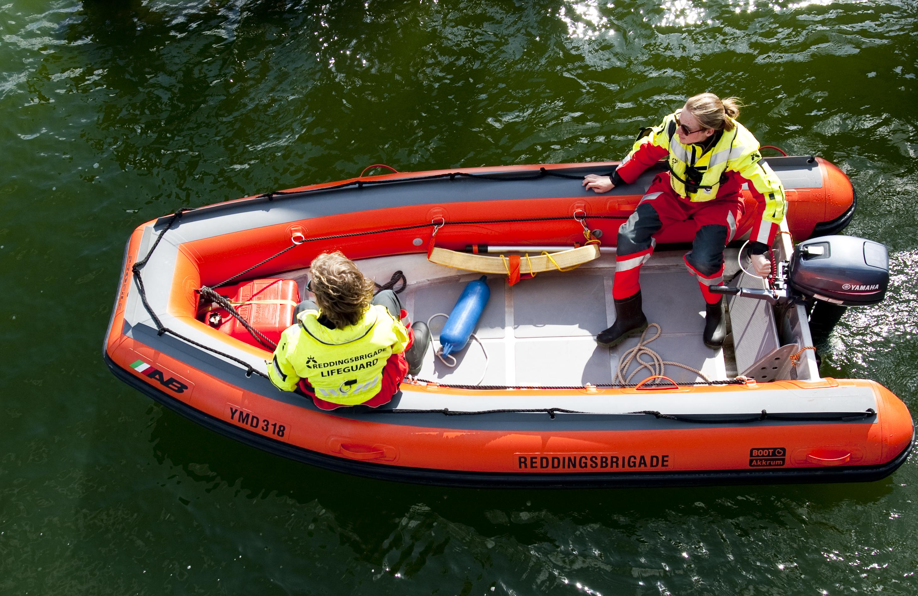 IJmuider Reddingsbrigade reddingsboot Lifeguards