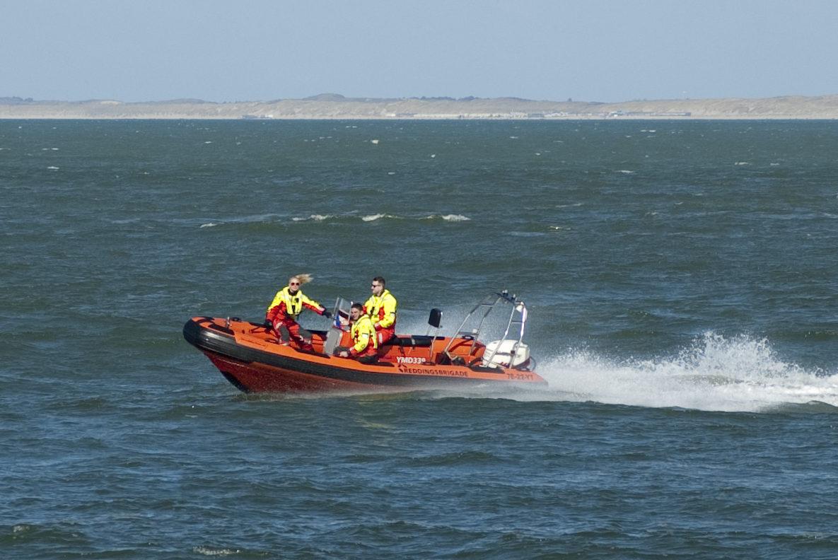 Snelle reddingsboot Reddingsbrigade IJmuiden