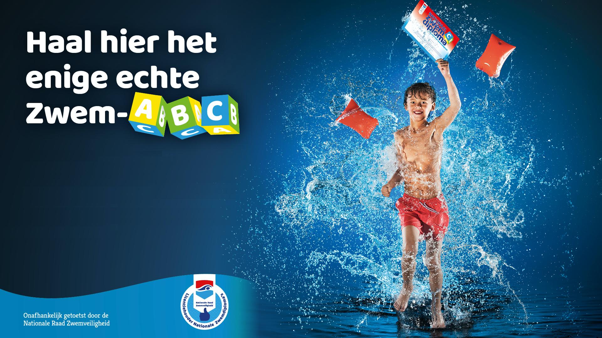 Zwem-ABC bij de IJmuider Reddingsbrigade
